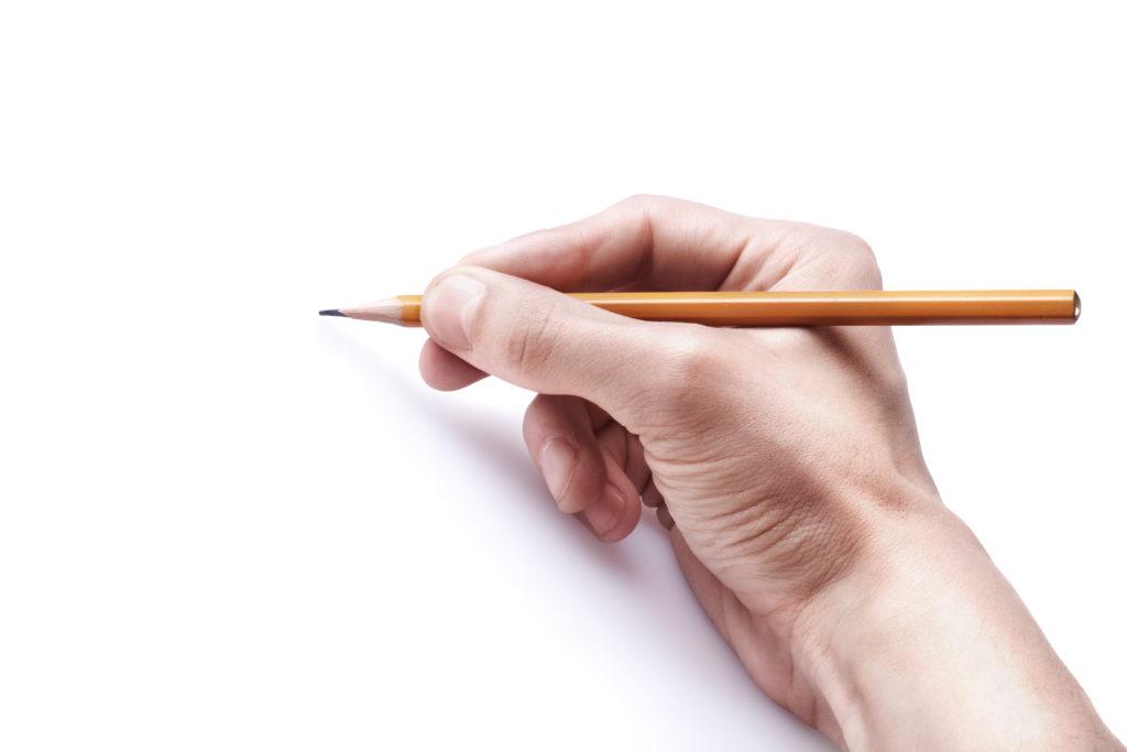 先生は正しい鉛筆や箸の持ち方をするべき できていない人が結構いる